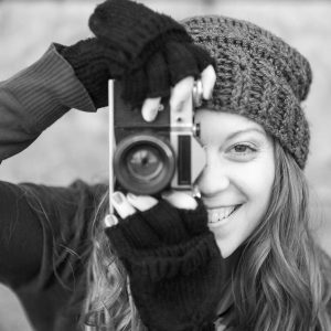 Kaitlin With A Camera