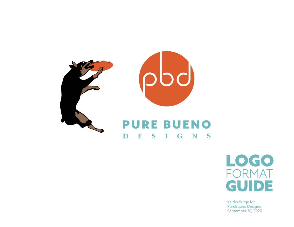 Pure Bueno Logo Export Guide Page 1