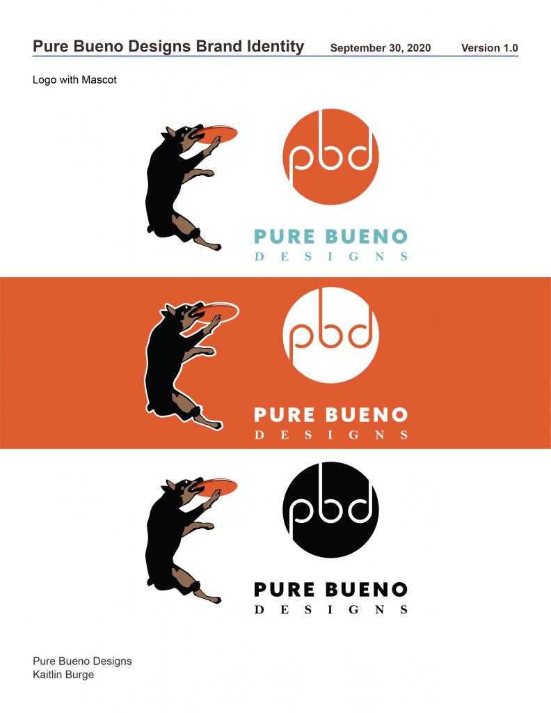 Pure Bueno Designs Stylebook Page 3